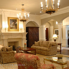 Traditional Living Room by Stephen Fuller Designs