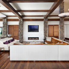 Contemporary Living Room by Architectural Interiors LLC