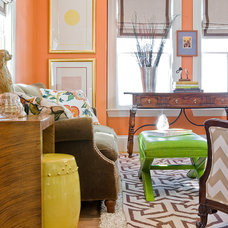 Traditional Living Room by Ana Donohue Interiors