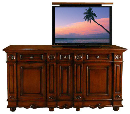 Flat Screen Tv Lift Cabinets Home Design Ideas, Pictures, Remodel and Decor