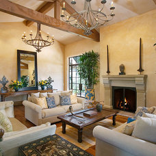 Traditional Living Room by Maienza-Wilson Interior Design + Architecture