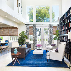 contemporary living room by Daniella Villamil Interiors
