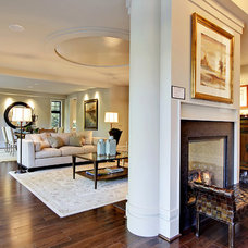 Contemporary Living Room by Andrea Braund Home Staging & Design