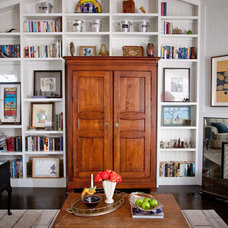 Eclectic Living Room by Andrea May Hunter/Gatherer