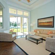 Traditional Living Room by Staging & ReDesign