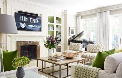 New This Week: 4 Casual Living Rooms Moonlighting as Formal Spaces