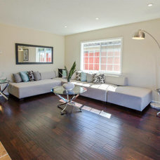 Contemporary Living Room by Platinum Flooring Company
