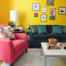 Eclectic Living Room by Nicole Crowder Photography