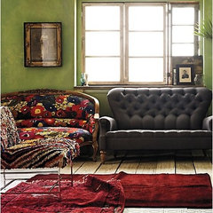 eclectic living room Anthropologie Home