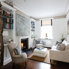 Traditional Family Room by MPD London