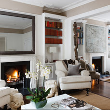 Traditional Living Room by MPD London