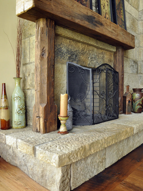 Antique Fireplace Home Design Ideas Pictures Remodel And
