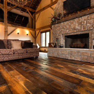 Antique Historic Plank Flooring - Barn Loft