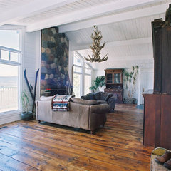 eclectic living room by Uniquities Architectural Antiques & Salvage