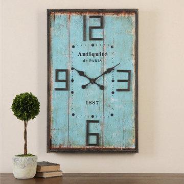 Antiquite Distressed Wall Clock
