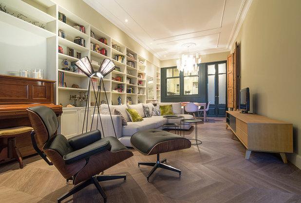 Anni '50 Soggiorno by FFWD Arquitectes