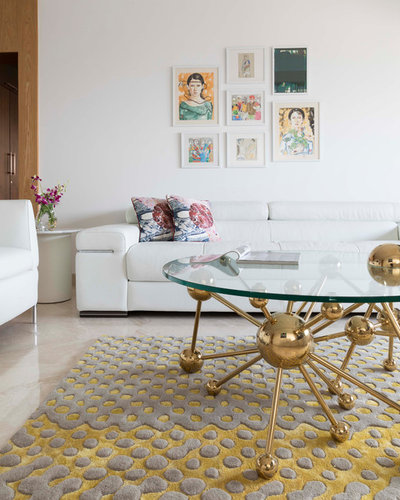 Contemporary Living Room by Anushka Contractor