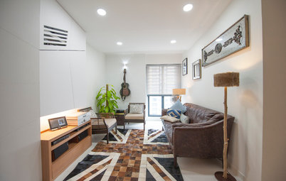Houzz Tour: This Compact Condo Embraces Its Unconventional Layout