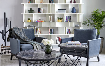 Delhi Houzz: A Swish Skyrise Home With a Scandinavian Flair