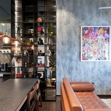 Houzz Tour: Edgy, Industrial-chic Penthouse Apartment in Siglap