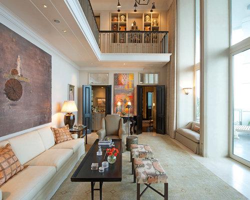 Klassische Wohnzimmer mit Marmorboden - Ideen, Design ...