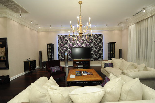 Contemporary Living Room by Gauhar ZH