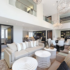 Contemporary Living Room by haus properties