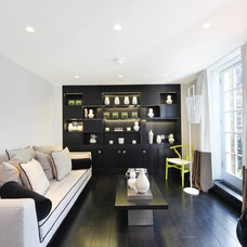 Contemporary Family Room by haus properties