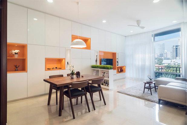 Modern Living Room by Proj. B Studio