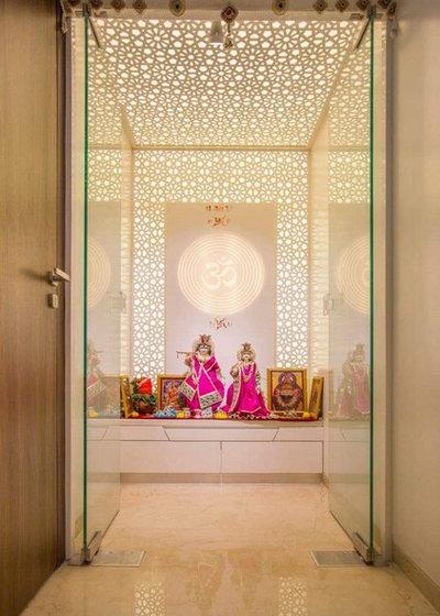 Contemporary Family Room by dizzartstudio30