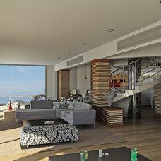 Contemporary Living Room by Inner Plan Design Studio Ltd