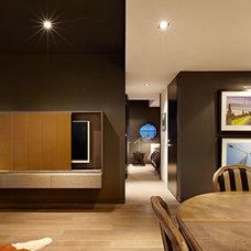 Contemporary Living Room by Patrick Meneguzzi Interiors