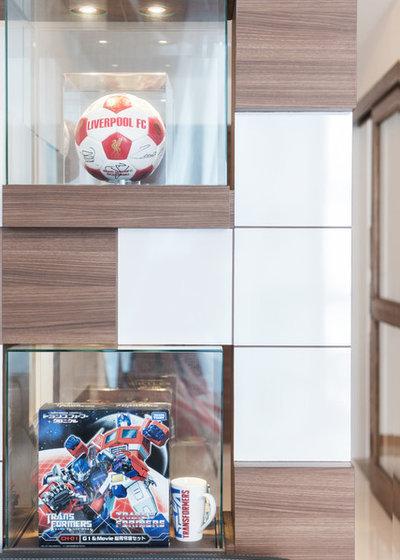 Contemporary Living Room by Proj. B Studio