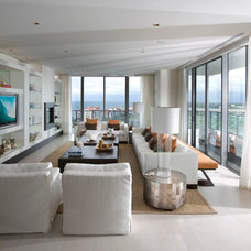 Contemporary Living Room by Sharron Lewis Design Central