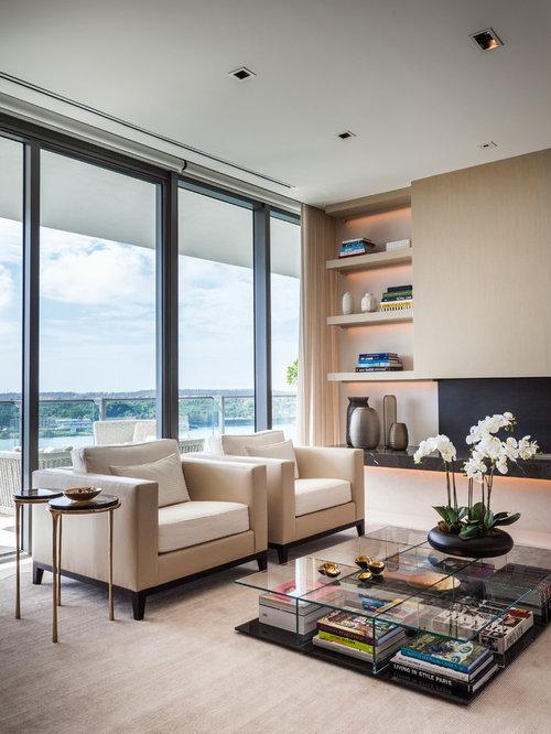 Modern Living Room Design Ideas, Remodels & Photos   Houzz