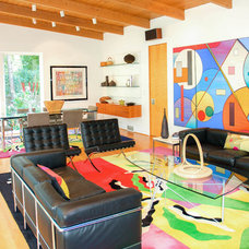 Midcentury Living Room by Artists Concepts