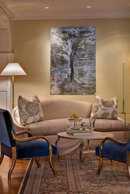 Traditional Living Room by Mark Henninger