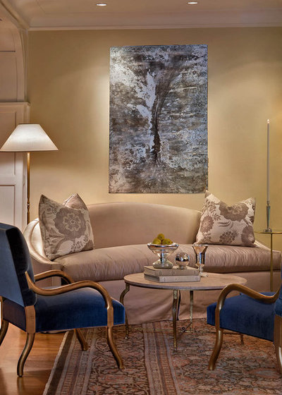 American Traditional Living Room by Mark Henninger