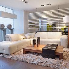 Contemporary Living Room by AptDeco