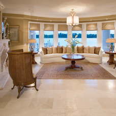 Traditional Living Room by Silver Sea Homes