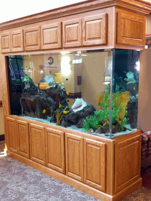 Aquarium Living Room Decor: Best Aquarium Interior Design Ideas & Remodel Pictures
