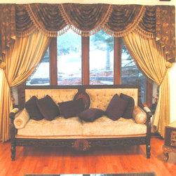 Arabian Nights Living & Dining Room - Jane Hamilton
