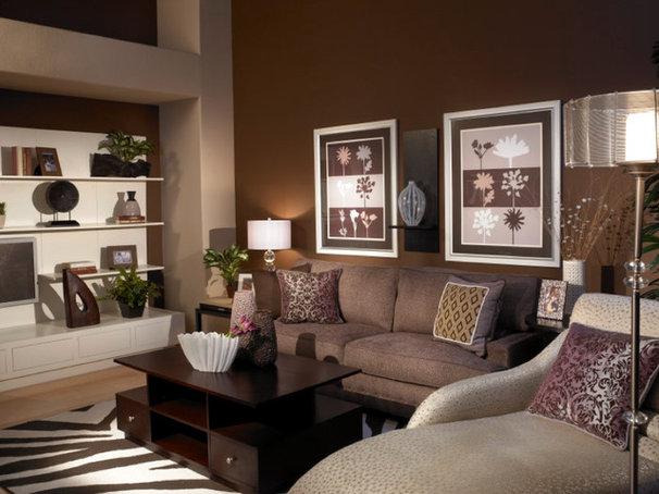 Contemporary Living Room by Ami Samuel Interiors