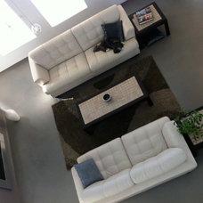 Modern Living Room by Manu Forte Concrete & Tile