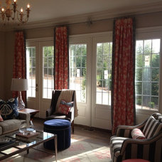 Transitional Curtains by Window Works Studio, Inc.