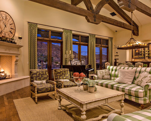 Houzz French Country Living Room Design Ideas Amp Remodel
