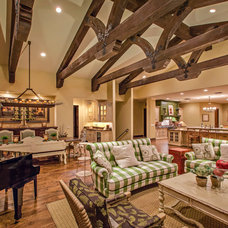 Traditional Living Room by Hendricks Construction