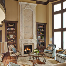 Traditional Living Room by Dallas Renovation Group