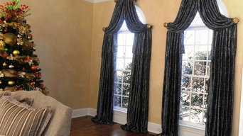 Arch window treatment
