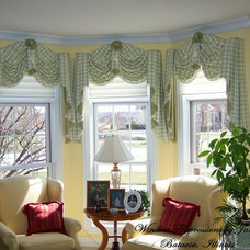 Eclectic Living Room by Window Expressions by Janet